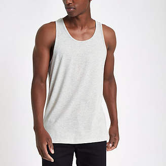 River Island Ecru scoop neck tank top