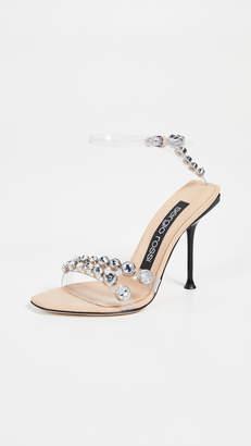 Sergio Rossi 105mm Milano Sandals