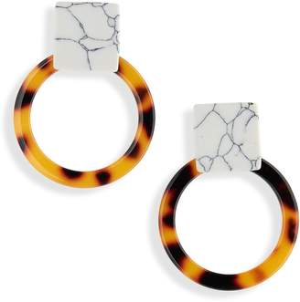 Leith Resin Statement Earrings