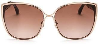 Jimmy Choo Women's Matys Square Sunglasses, 58mm