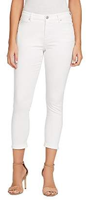 Bandolino Women's Smooth Operator Seamless Shaper Crop Jean