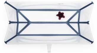 Stokke Flexi Bath® Foldable Baby Bathtub with Temperature Plug