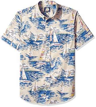 Reyn Spooner Men's Weekend Wash Tailored Fit Hawaiian Shirt