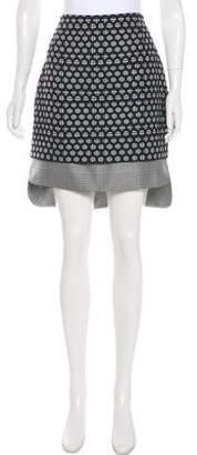 Antonio Berardi Patterned Knee-Length Skirt