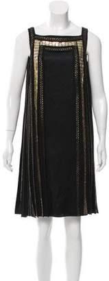 Temperley London Embellished Satin Dress