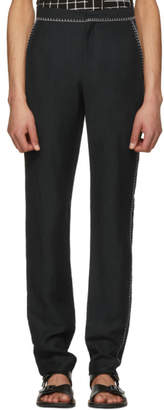 Acne Studios Grey Billan C Fluid Trousers