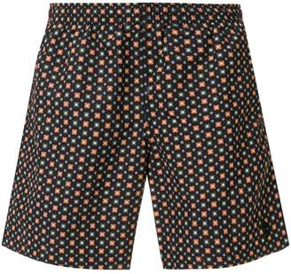 Alexander McQueen two-tone swimming shorts
