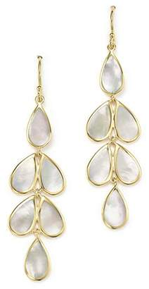 Ippolita 18K Yellow Gold Rock Candy® Cascade Teardrop Earrings with Mother-of-Pearl