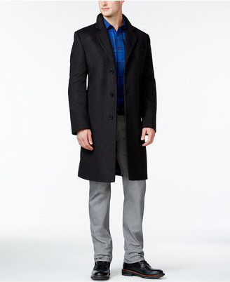 MICHAEL Michael Kors Madison Cashmere-Blend Big and Tall Overcoat $595 thestylecure.com