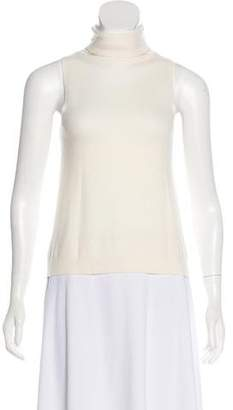 Donna Karan Cashmere Sleeveless Sweater