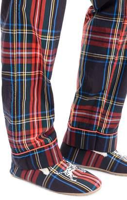J.Crew Vintage Stewart Black Tartan Pajama Pants