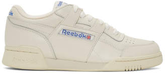 Reebok Classics White Workout Plus 1987 TV Sneakers