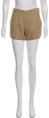 Hache Linen Mini Shorts w/ Tags