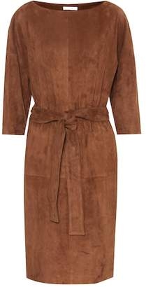 The Row Suede dress