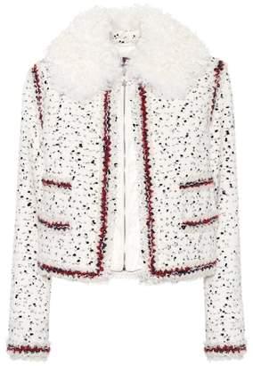 Moncler Gamme Rouge Nynke tweed jacket