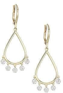 Phillips House Women's Infinity 14K Yellow Gold & Diamond Drop Dangle Earrings