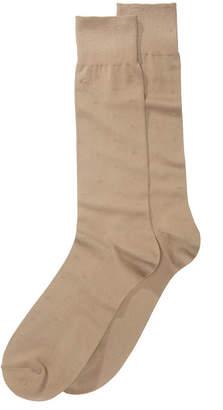 Perry Ellis Men's Microfiber Dress Socks