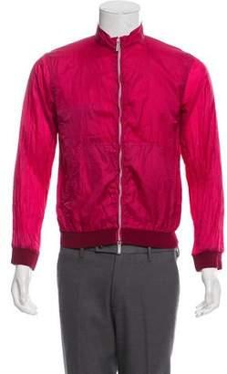 Armani Collezioni Striped Track Jacket w/ Tags