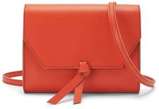 Alexandra de Curtis Mini Crossbody Clutch Orange