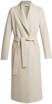 Harris Wharf London Open-front pressed-wool coat