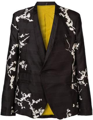 Haider Ackermann single breasted blazer