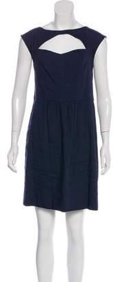 Rebecca Taylor Linen-Blend Mini Dress w/ Tags