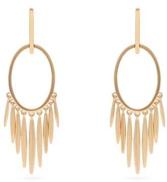 Ileana Makri Grass Sunset 18kt Gold Earrings - Womens - Gold