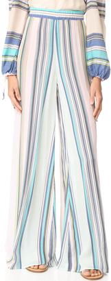 Wildfox Nikia Provenzano x Wildfox Boardwalk Stripe Havana Pants $162 thestylecure.com