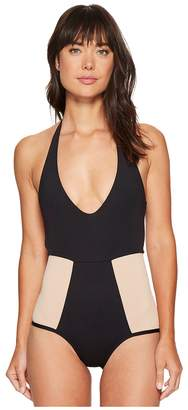 L-Space Fireside Color Block One-Piece Women's Swimsuits One Piece