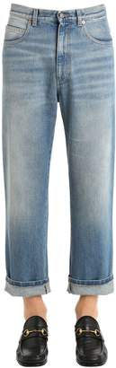 Gucci Coated Stone Washed Denim Jeans