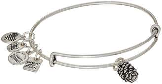Alex and Ani Charity By Design Pinecone Bangle Bracelet