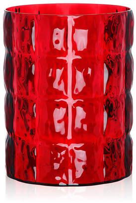 Kartell Matelasse Vase - Red