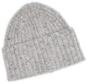 Drakes Drake's Donegal Merino Hat in Light Grey
