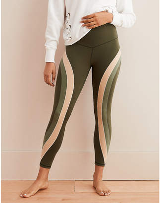 aerie Play Real Me Color Block High Waisted 7/8 Legging