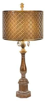 "Woodland Imports Savannah 35.25"" Table Lamp Woodland Imports"