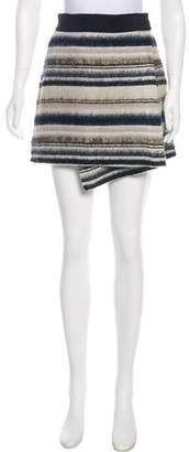 Vena Cava Stripe Mini Skirt