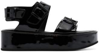 Ann Demeulemeester Platform leather sandals