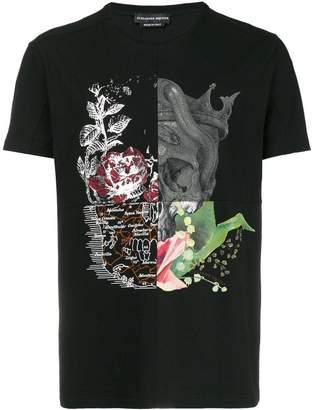 Alexander McQueen signature print T-shirt