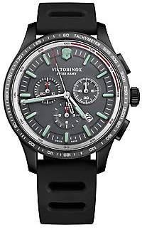 Victorinox Alliance Sport Stainless Steel Rubber Strap Watch