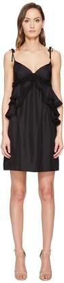 Thomas Wylde Dolly - Ruffled Spaghetti Strap Dress Women's Dress