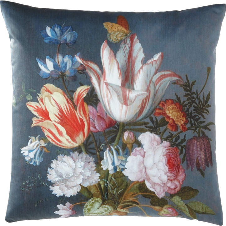 Poetic Pillow Striated Tulip Pillow
