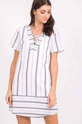 Very J Striped Dress