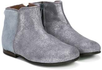 Pépé contrast upper boot
