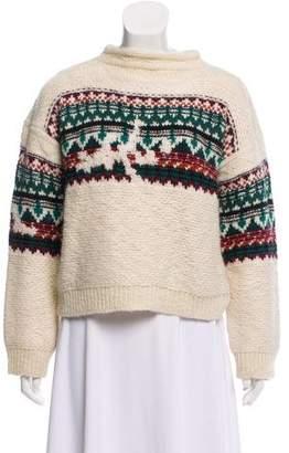 Etoile Isabel Marant Printed Wool Sweater