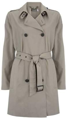 Mint Velvet Pale Khaki Belted Trench Coat
