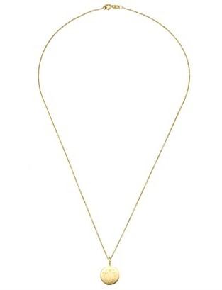 Sarah Chloe Gold Plated Large Mia Pendant