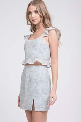 J.o.a. Mint Lace Skirt