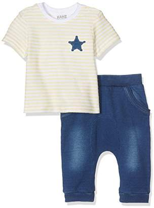 Kanz Boy's T-Shirt 1/4 Arm + Hose Clothing Set