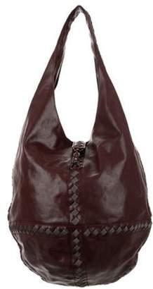 Bottega Veneta Intrecciato Leather Hobo Bag Intrecciato Leather Hobo Bag