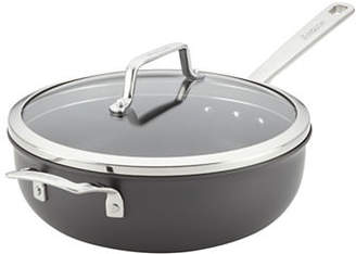 Anolon Authority 4-Quart Hard Anodized Chef Pan with Cover